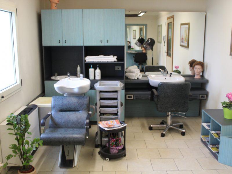 la sala della parrucchiera